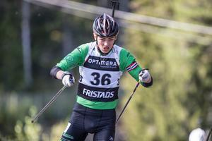 Limas Karl Grönland tog silver i sprinten. Foto: Per Danielsson / Projekt.P