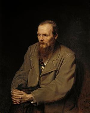 Fjodor Dostojevskij 1872. Målning av Vasily Perov.