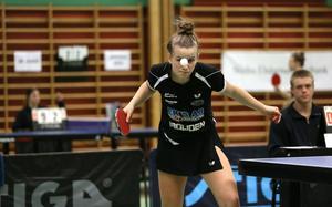 Talangen Hannah Holgersson lyckades inte vinna någon av sina matcher mot Arvika.