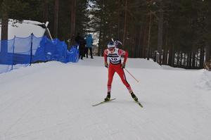 Henning Lindh ten Berg tog brons i sprint för herrar 16–17.