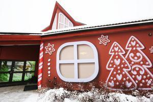Julstämning på Myntgatan i Falun.