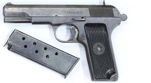 Pistolen som användes. Foto: Polisen