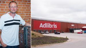 Johan Kleberg, avgående vd för Adlibris, vars lager – och en hel del övrig verksamhet – finns i Morgongåva.