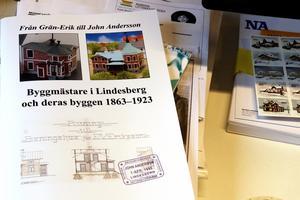 På onsdag den 13 november är det föresläsning på biblioteket om byggmästare i Lindesberg. Då släpps Cicki Erikssons skrift. Lindesbergs hembygdsförening ger ut den och Göran Karlsson har gjort layout samt är ansvarig utgivare.