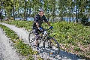 Lars Wiik har inget emot om Surahammars kommun tillåter att det byggs åretrunthus norr om sommarstugeområdet.