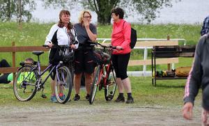 FEstområdet var även målområde för cykelloppet Gissjötrampet.
