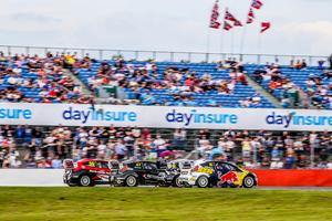 Tävlingen avgjordes på den klassiska banan i Silverstone, mellan London och Birmingham i England. Foto: RX2
