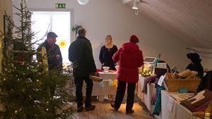 Majoriteten av besökarna var från närområdet, men det fanns några som hade rest hela vägen från Stockholm.