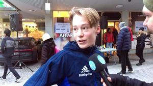 Lukas Karlqvist kom först i mål med god marginal.