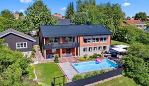 Denna villa i Åselby, Borlänge kommun, var det sjätte mest klickade huset i Dalarna under förra veckan. Foto: Patrik Persson