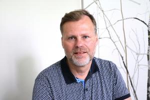 Thomas Hjelmqvist vd för Lekebergsbostäder AB.
