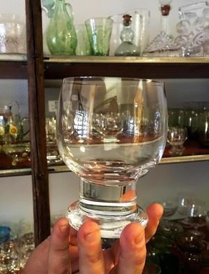 Glaset Stora Måtta designat av Gunnar Cyrén för Orrefors på 70-talet.