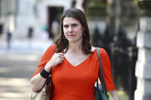 Jo Swinson, partiledare för brittiska Liberaldemokraterna. Foto: Kirsty O'Connor/AP Photo