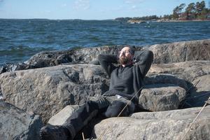 Att få fotografera vid havet är total frihet och avkoppling för mig, säger Håkan Sundström.