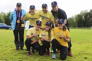 Lag Vemhån vann Bykampen i Lillhärdal.