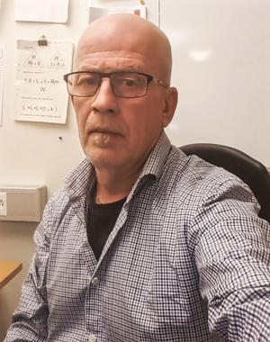 Lars Sundberg är en av de boende som störts av Mälartåget som testas i Hudiksvall. Bild: privat.