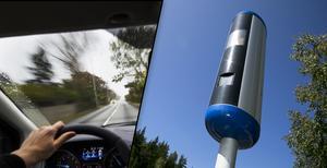 Fotomontage: Mikael Hellsten/TT, Emil Langvad. 104 kameror bevakar trafiken i länet – vi har listan på vilka som har fångat flest fortkörare.