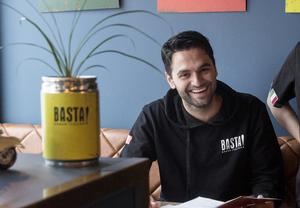 Brazer Bozlak har grundat den italienska restaurangkedjan BASTA som startade i Falun för drygt två år sedan.