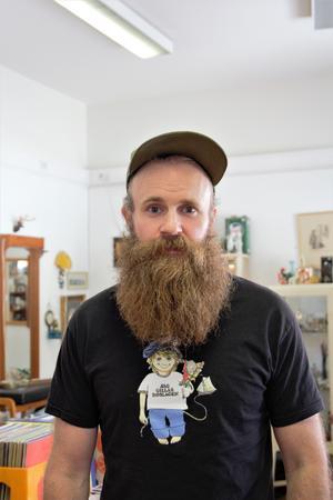 Jonas Svensson har tillsammans med sin partner Petra Gustavsson drivit butiken i sex år.