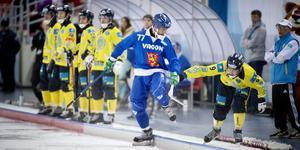 Sami Laakkonen under VM 2015 i Chabarovsk. Bild: Jessica Gow/TT