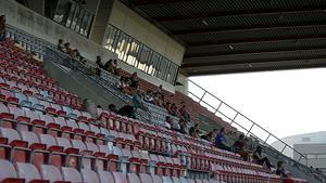 Åskådarna är numera lätträknade på fotbollsarenan. Foto: LT-arkiv