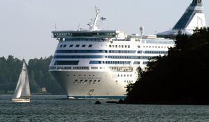 Furusundsleden, där många båtar och fartyg passerar dagligen. Furusund är ett populärt ställe för båtfolket. Foto: Scanpix