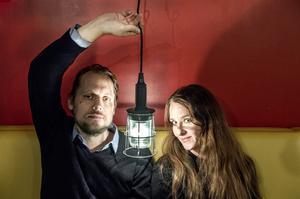 Teatergruppen Lumors ledarduo Oskar Thunberg och Paula Stenström Öhman har de senaste åren både rosats och prisats. Foto: Lars Pehrson / SvD / TT