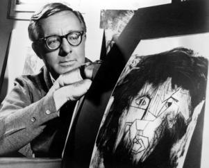 Ray Bradbury 1966. Foto: AP