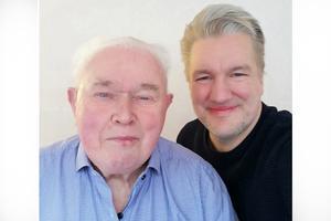 Curt Arnaryd (KD) och Jan Myléus (KD), kommunalråd i opposition.