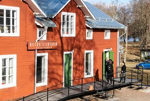 Besökscentrum, Husbyringen, Stjärnsund. Foto: Jan Björkegren.