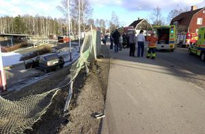 Olyckan inträffade vid Kopparvallen i Falun. Arkivfoto: Mikael Forslund.