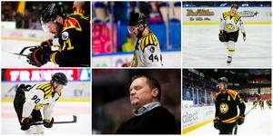 Hela tio spelare kan komma att lämna Magnus Sundquist Brynäs till nästa säsong.