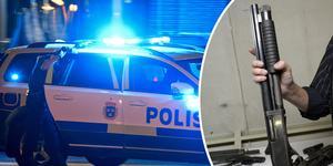 Mannen har suttit häktad sedan han greps i somras. Nu dömdes han för grovt vapenbrott. Foto: Johan Nilsson/TT