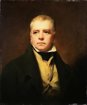 Walter Scott. Målning av Henry Raeburn från 1822.