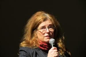 Bibliotekschefen Giovanna Jörgensen. Foto: Max Möllerfält