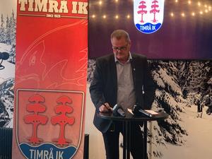 Lars Backlund, ordförande i Timrå IK, berättade under en presskonferens att klubben inte längre har förtroende för Jörgen Wahlberg.