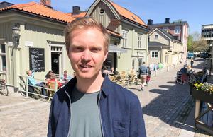 Erik Ersberg i maj 2019.