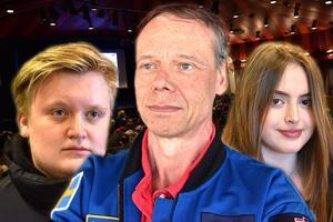 Christer Fuglesang, Sveriges förste och hittills ende astronaut, var ett uppskattat inslag under Industrinatten.