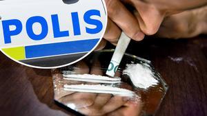 En man från Borlänge kommun har åtalats misstänkt för ringa narkotikabrott. Han ska ha haft kokain i kroppen när han vistades på Hagavägen i Borlänge, vilket han även ska ha erkänt för polisen på plats. Obs: Bilden är arrangerad.