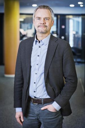 Peder Bertilsson, lönestrateg på fackförbundet Ledarna. Foto: Ledarna