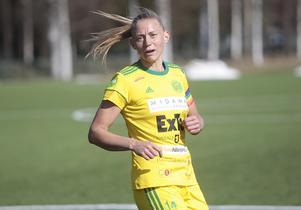 Ellika Persson leder med sina tio mål den interna skytteligan i Ljusdal.