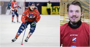 Matteus Liw svarade för ett drömmål i fredagens match på Sävstaås.