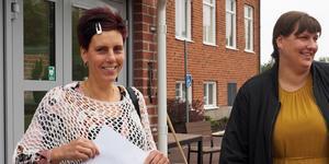 Bodil Jonsson är i stort sett klar med sina studier på Bäckedals folhögskola där hon läst in allmän behörighet. Johanna Högström ska fortsätta till hösten.