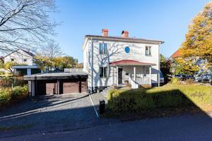Denna villa på Östermalm i centrala Borlänge var det sjätte mest klickade dalaobjektet under vecka 47.Foto: Patrik Persson
