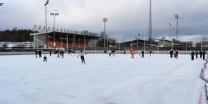 Överblick av Hakonplanen på Rocklundaområdet i Västerås.
