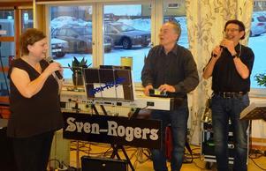 Birgitta Sidner utnämnde Sven-Rogers till storband vilket väckte mycket muntration.