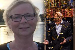 Susanna Sundberg från Säter vann under söndagskvällen 1 miljon kronor i Bingolotto i TV4.