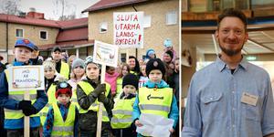 Insändarskribenten presenterar i sin insändare vad Ådalspartiet – Folkets Röst vill åstadkomma. Foto: Lisa Selin och Hanna Persson.