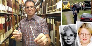 Peter Sjölund är dna-släktforskningens nestor i Sverige. Han tror att den revolutionerande utvecklingen av DNA-an analyser kommer att lösa flera ouppklarade mord.