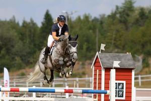 Elsa Ekman ska börja tävla mer individuellt under 2020. Foto: Mathilda Sjööns